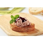 Toasted bread and pate