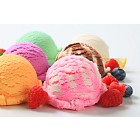 Assorted ice cream