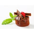 Mini chocolate dessert cake