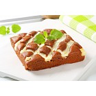 Gingerbread cake with cheese