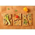 Pumpkin seed cheese crackers