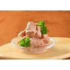 bowl of canned tuna