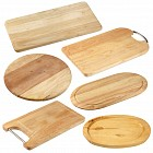 Various wooden cutting boards
