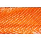 Raw salmon background