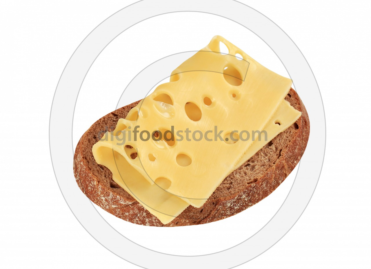 Bread and Swiss cheese