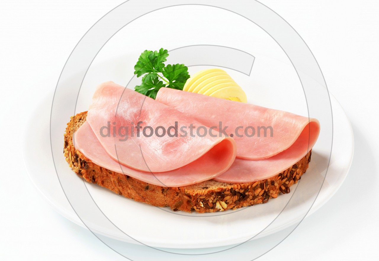 Bread and ham